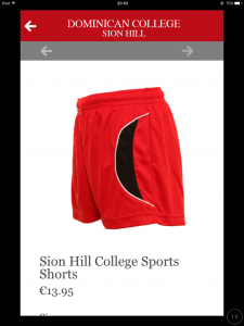 School Gym Shorts