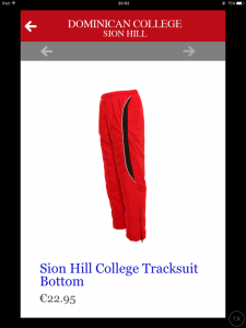 School Tracksuit bottoms